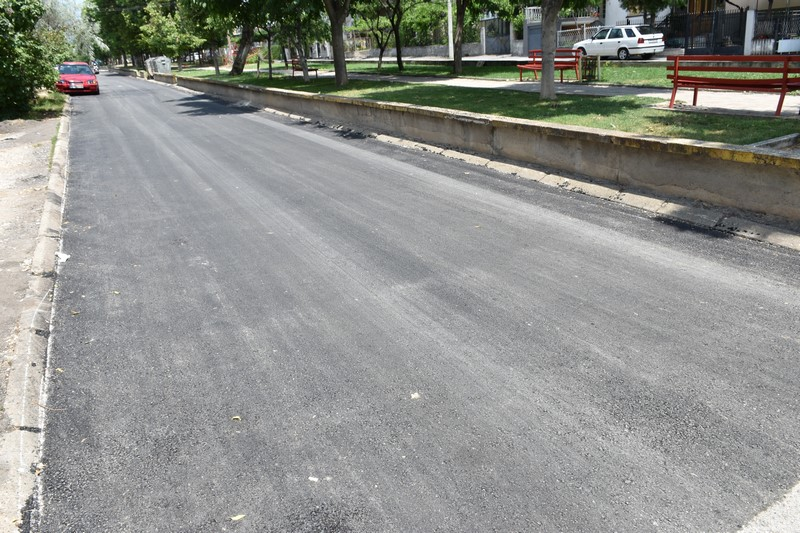 """Комплетно нов асфалт за улицата """"Петта Прилепска бригада"""" - Општина"""